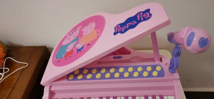 贝芬乐 小猪佩奇钢琴儿童玩具乐器 音乐早教启蒙益智玩具礼物男孩女孩 迷你教学功能电子琴99034粉色 晒单图
