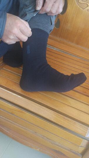 恒源祥袜子男纯棉中筒商务男袜秋冬季吸湿透气男袜A1158755 晒单图
