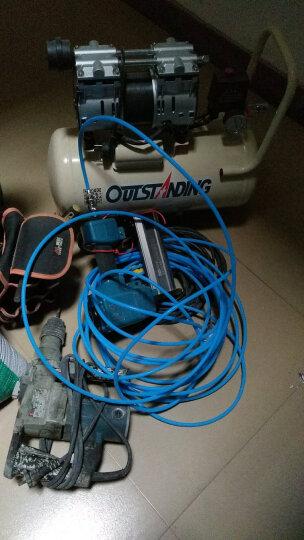 OUTSTANDING奥突斯无油静音空压机气泵800-30L木工小型充气泵地暖空压机 整机+送五件套+ST64钢钉枪 晒单图