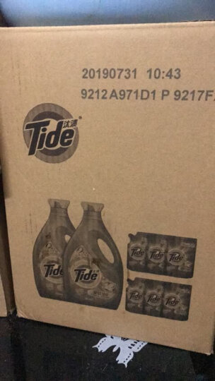 汰渍 Tide 洁净除菌洗衣液(洁雅百合香)超值套装18斤 家庭装(新旧香型随机发货) 晒单图