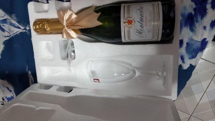【送香槟杯】法国巴黎半干型高泡起泡酒进口气泡酒甜葡萄酒750ml配香槟杯酒塞礼袋 晒单图