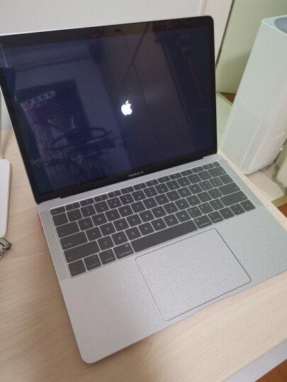 倍晶 mac苹果电脑macbook笔记本pro13全套保护air13.3外壳贴纸16键盘贴膜15屏幕 透明纤薄纳米银TPU键盘膜 12英寸MacBook底部型号A1534 晒单图