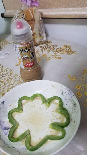 【店长推荐】富士甚 芝麻味色拉调味汁 280ml  日本进口调味料 沙拉酱 蔬菜/水果 晒单图