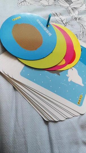 视觉激发全脑训练卡:黑白卡+彩色卡+全脑卡+感统训练(套装共4册) 晒单图