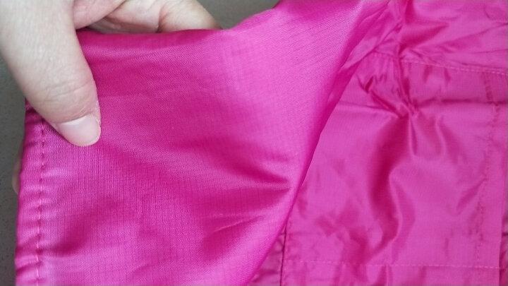 聚心尚品(x-life)围裙袖套女 可爱公主厨房做饭围腰 防水防油成人反穿衣工作服 玫红 晒单图