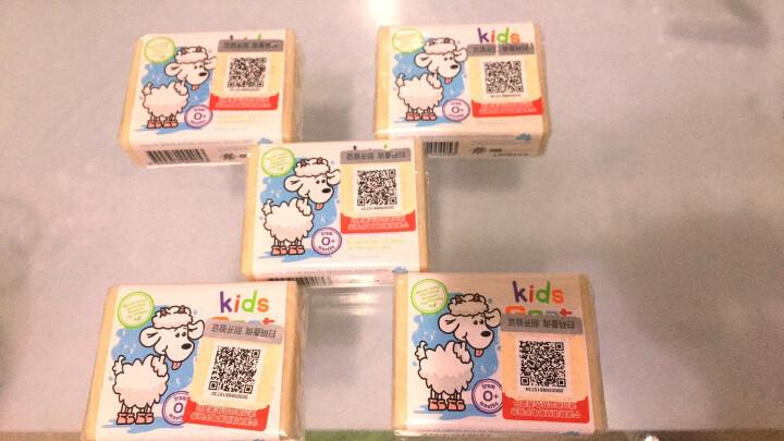 Goat Soap kids 洗手洁面沐浴皂 婴幼儿手工香皂 敏感肌肤适用 山羊奶皂 澳洲进口 100g 晒单图