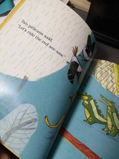 丽声我的第一套亲子英文绘本(5-6岁下 点读版 套装共6册 附光盘) 晒单图