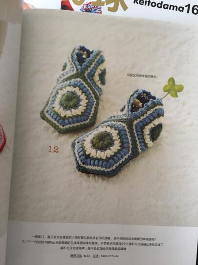 钩编软软的日式毛线鞋 晒单图