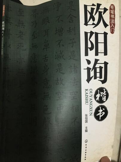 毛笔书法入门:王羲之行书 晒单图