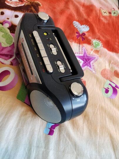熊猫(PANDA)6600 便携式 收录机 磁带 卡带 录音机 播放器 播放机 老年人半导体 老式 老人 收音机 外放 晒单图