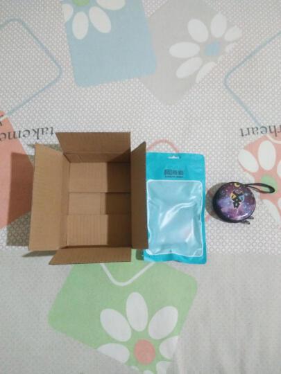 阿奇猫 数据线收纳包线控耳机便携迷你卡通零钱收纳盒 卡通收纳包 晒单图