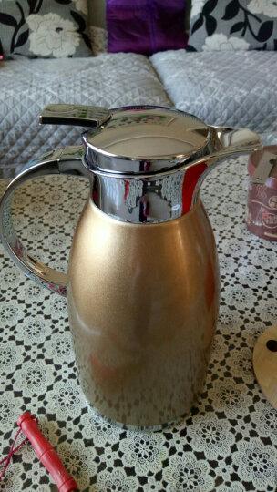 美厨(maxcook)保温壶 304不锈钢真空热水壶保温瓶暖壶开水瓶 大容量防滑咖啡壶3.0LMCB396 晒单图