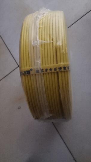 飞雕(FEIDIAO)电线电缆 BV2.5平方 国标家用铜芯电线单芯单股铜线100米 黄色火线 晒单图
