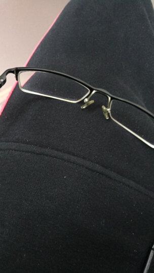 目匠 防辐射眼镜框男女 近视眼镜男女款防蓝光护目镜全框超轻时尚TR眼镜架 170 磨砂黑+送1.56防蓝光镜片(平光或400度内) 晒单图