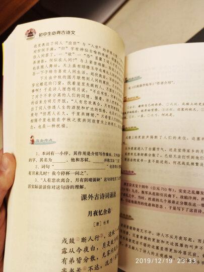论语译注 国学经典正版 青少年语文新课标书籍初中生必读丛书 (下册是名师导读 拆开塑封可以找到) 晒单图