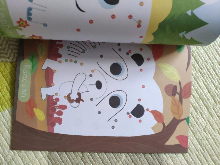 美乐(JoanMiro)连点画 连线书儿童涂色书画册早教幼儿画画连线绘本宝宝幼儿园涂色绘本 四本合拍 晒单图