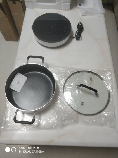 小米 米家知吾煮汤锅 铝材锅身 耐腐蚀易清洁 食品级不黏涂层 导磁锅底 晒单图