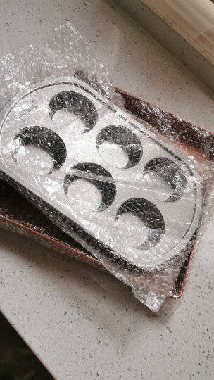 北美电器(ACA)6杯蛋糕模 不粘烘焙模具 高级碳钢材质ABT-HPCM06 晒单图
