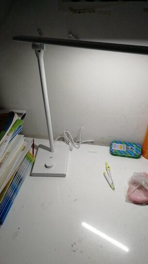 久量(DP)led台灯 卧室床头灯学生学习亮度记忆台灯无极三色调光升级柔光屏DP-1048 晒单图