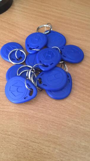 森灿 激光刻码2号ID钥匙扣卡物业ID门禁卡ID卡ID感应卡考勤卡ID异型卡 2号ID钥匙扣蓝色10个(不能复制拷贝) 晒单图