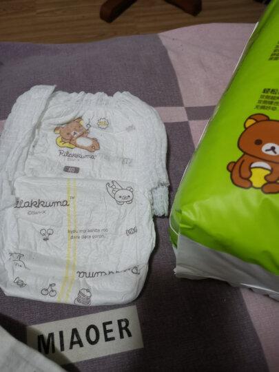 名人宝宝一抹轻芯系列 婴儿拉拉裤 超薄透气干爽尿不湿 M28片*3包装 晒单图
