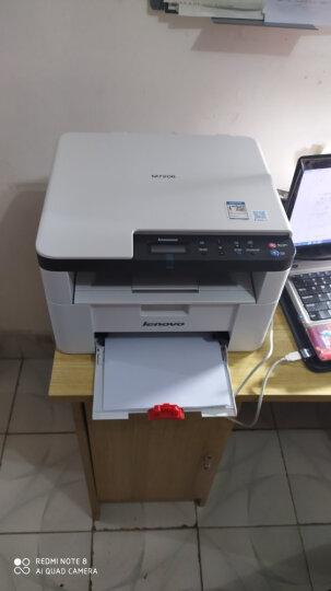 联想(Lenovo)M7216NWA 黑白激光有线网络+无线WiFi打印多功能一体机 商用家用办公 (打印 复印 扫描) 晒单图