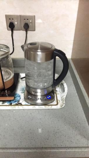 龙的(Longde)电热水壶德国进口肖特玻璃电水壶大容量调温保温烧水壶 LD-K1035  晒单图