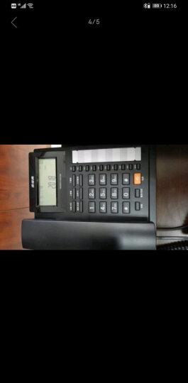 步步高(BBK)电话机座机 固定电话 办公家用 双接口 10组一键拨号 HCD159睿白 晒单图