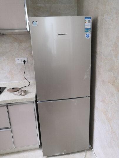 西门子(SIEMENS) 265升 双门冰箱 节能小型电冰箱 内显 电脑温控(浅金色) BCD-265(KG28EV2S0C) 晒单图