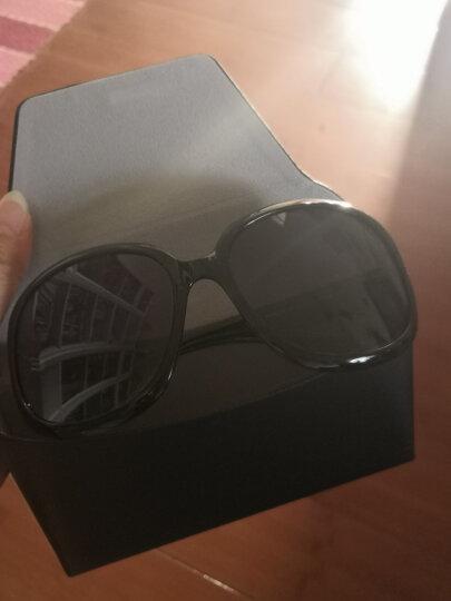 帕森(PARZIN)太阳镜女款墨镜 复古大框时尚偏光太阳眼镜6216 紫色 晒单图