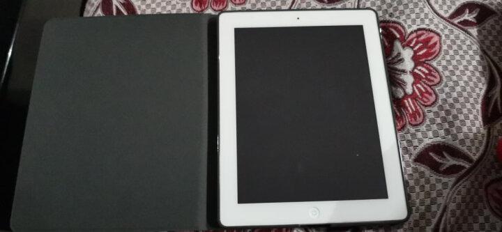 zoyu 老款iPad4保护套 ipad3保护壳 ipad2苹果平板电脑全包皮套a1458/1395 开小汽车的恐龙【送钢化膜】 晒单图
