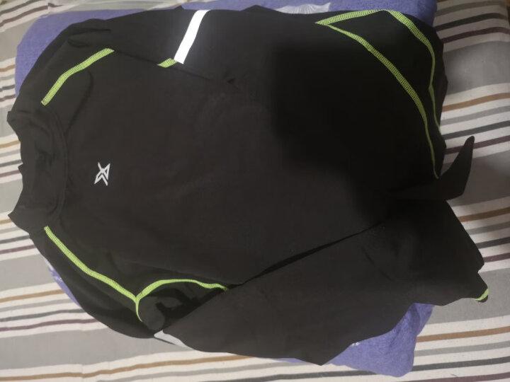 范斯蒂克(vansydical) 范斯蒂克儿童紧身衣套装男童运动健身衣篮球足球打底衫跑步训练服两件套 花灰蓝两件套TC3238 XL 晒单图