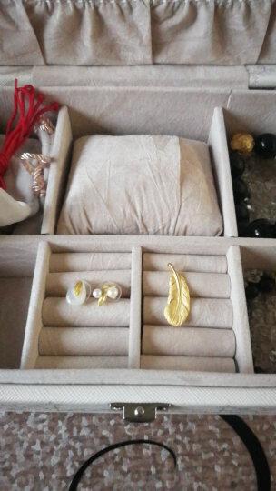 周生生 黄金吊坠足金爱情密语系列羽毛吊坠 不含黄金项链 86820P 计价 4.58克(含工费150元) 晒单图
