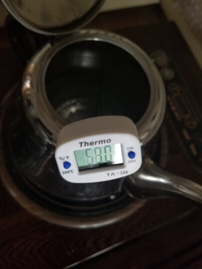 雨花泽(Yuhuaze)厨房食品电子温度计 探针式烘焙温度计 测水温油温食品测温计 温度表 晒单图