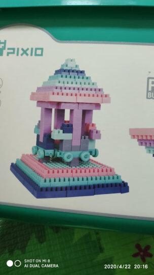 铭塔108粒拼插儿童积木玩具 婴幼儿男孩女孩立体塑料拼组装 1-3岁智力启蒙大颗粒生日礼物兼容乐高 晒单图