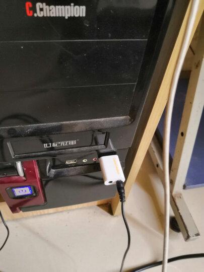 CABLE CREATION CD0030 USB3.0外置显卡 USB3.0转HDMI转换器 6屏扩展转接头 黑 电脑连接高清电视 投影 1080P 晒单图