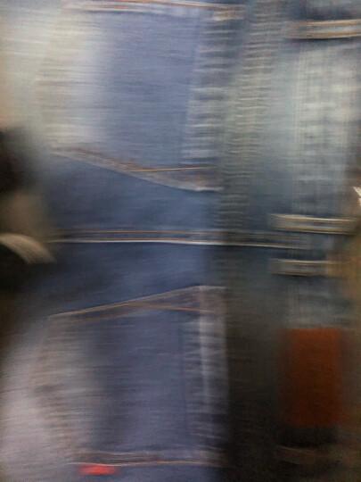 以纯线上品牌A21 莱卡弹力牛仔裤男修身小脚男士休闲牛仔长裤子男潮流4741003006 蓝色 30 晒单图