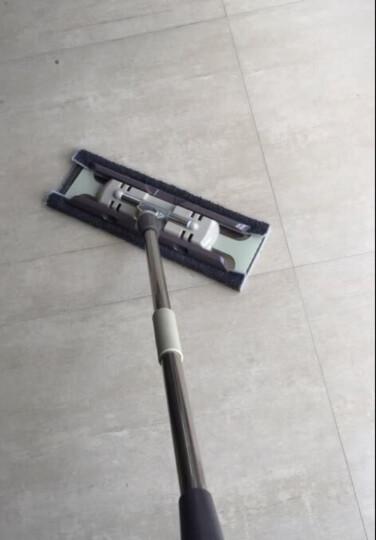 绿之源 家用平板拖把 清洁木地板神器家用室内瓷砖拖布吸水拖把头杆可旋转拖把墩布 晒单图