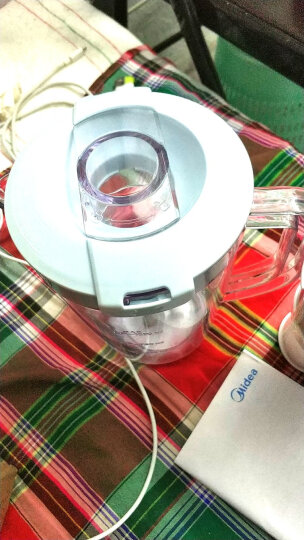 美的(Midea)料理机家用榨汁机 多功能三杯搅拌机 婴儿辅食机 研磨绞肉机WBL25B36(李现推荐) 晒单图