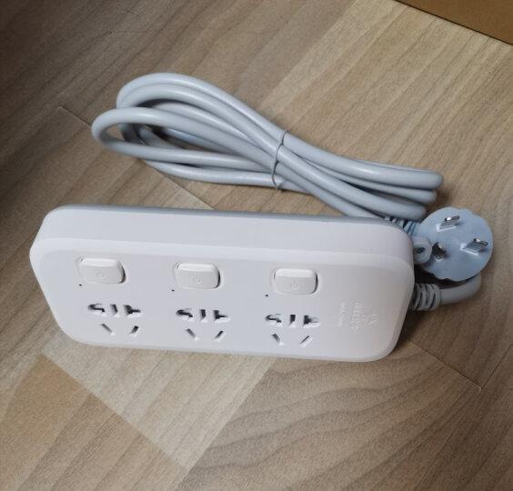 公牛(BULL)独立开关插座带分控开关插排多开关排插接线板插线板一对一多开关多功能电源插板 1.8米5插位GN-B5053 晒单图