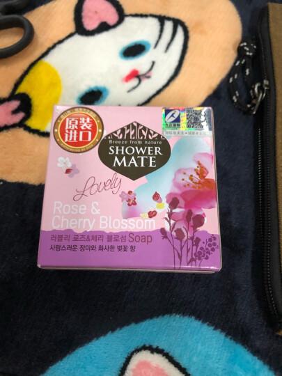 爱敬KCS玫瑰樱花皂 香水洁面沐浴皂100g 韩国进口(洗脸皂香氛皂香薰皂 香皂液 温和清洁 肌肤花香持久 男女) 晒单图