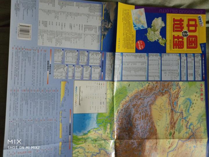 中国地图:便携撕不烂地图 (地理知识速读  学习 商务 旅游均适用) 晒单图