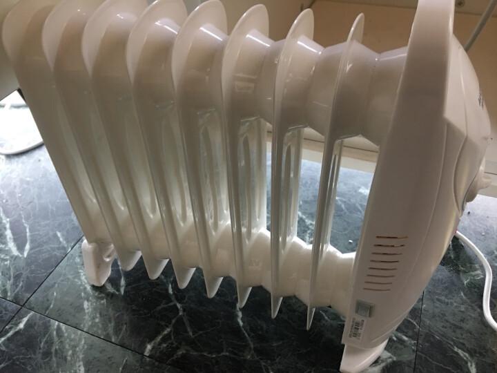 澳柯玛(AUCMA)NY10D527-9 9片迷你电热油汀取暖器/电暖器/电暖气 晒单图