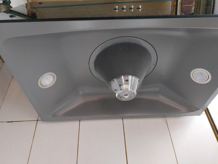 美的(Midea)CXW-180-AS7210-G1 中式油烟机 一体成型内腔  吸油烟机 黑晶面板 家用抽油烟机 晒单图