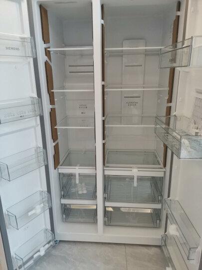 西门子(SIEMENS) 610升 变频风冷无霜对开门冰箱 大容量 速冷速冻(白色) BCD-610W(KA92NV02TI) 晒单图