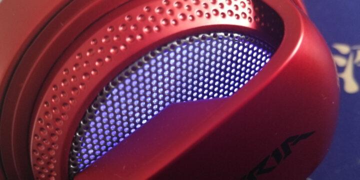 西伯利亚(XIBERIA)V10 游戏耳机头戴式 电脑耳机带麦 电竞耳麦 发光震动  灰色 晒单图