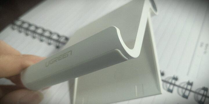 绿联 壁挂式平板支架 创意手机平板防摔墙壁充电底座 粘贴式充电支架 通用苹果iPad华为小米三星手机 40938 晒单图