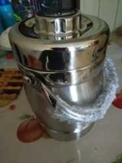 美厨(maxcook)304不锈钢保温提锅饭盒 1.5L 双层鼓形 MCST-1.5 晒单图