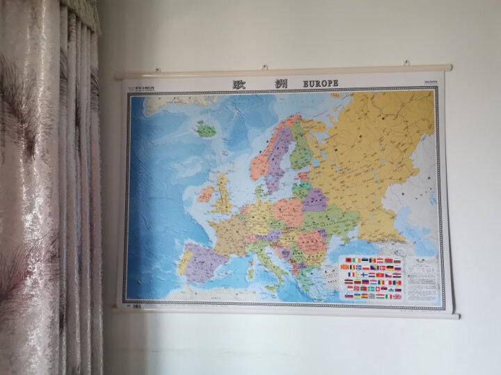 2021年 欧洲地图 中英文版 1.2*0.9米 晒单图