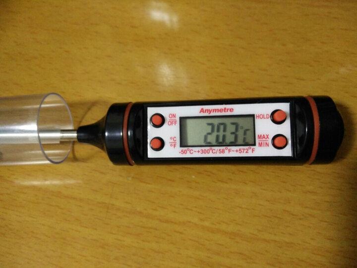 美德时(Anymetre)探针式厨房食品温度计奶瓶油温计电子水温计婴儿奶温计 PT3001 晒单图
